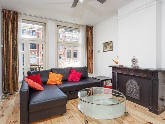 Bij-de-Amstel: appartment: woonkamer, living room, Wohnzimmer, salon, salón, soggiorno