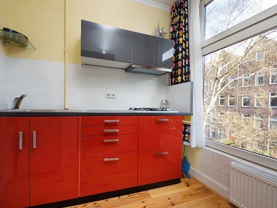Bij-de-Amstel: appartment: keuken, kitchen, cuisine, Küche, cucina, cocina
