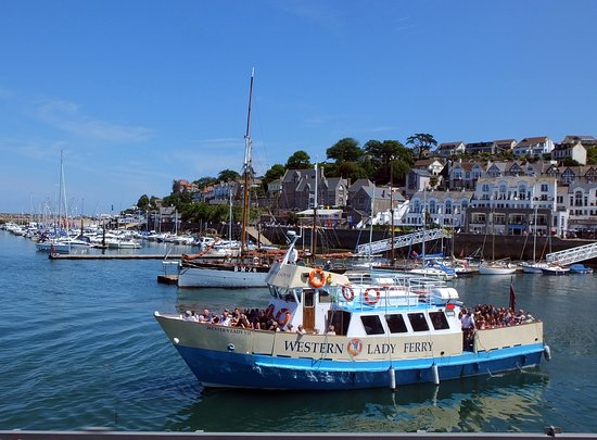 Torquay, UK: Western Lady leaving Brixham