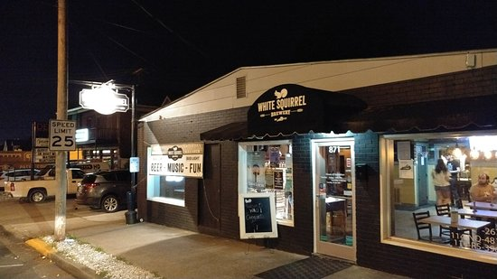 White Squirrel Brewery: Looks like a college dive bar
