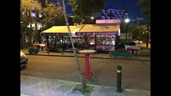 Gioti: our restaurant outside.