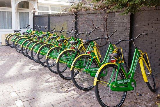 Best Western Hotel The Hague : rental bikes