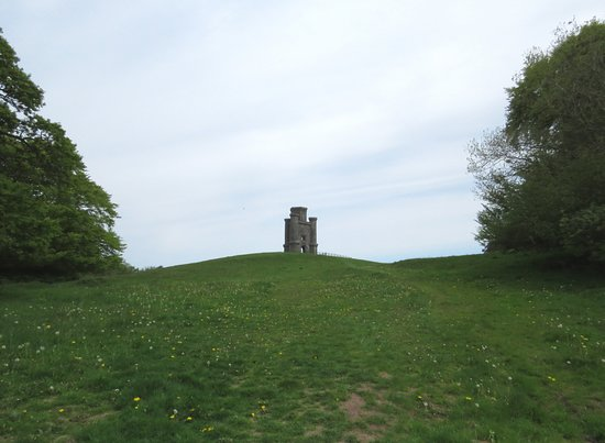 Paxton's Tower: The Tower as you enter the field