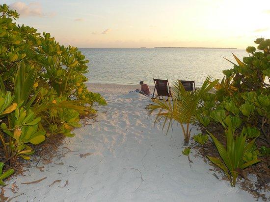 Makunudu Island: Es war einmal, diesen Strandabschnitt gibt es seit 2017 nicht mehr