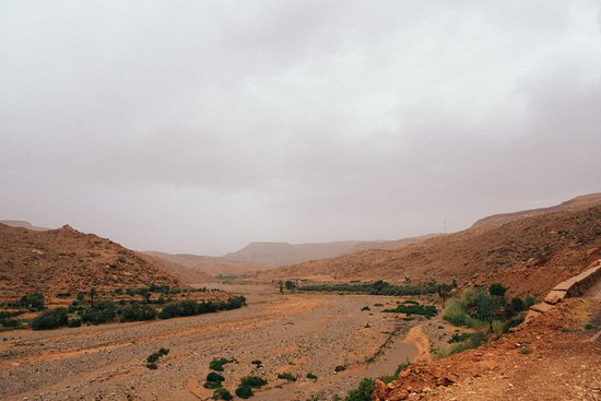Unesco World Heritage Site Ait Ben Haddou & Ouarzazate Full Day Trip: temporal river (dry)