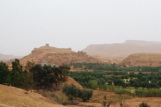 Unesco World Heritage Site Ait Ben Haddou & Ouarzazate Full Day Trip: ait ben haddou from the distance