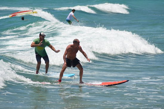 Dover, Barbados: Learn to Surf in Barbados at Barry's Surf School