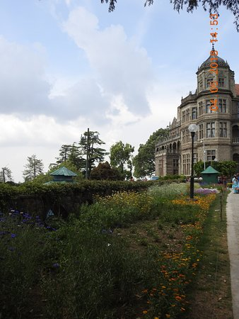 Indian Institute of Advanced Study: The Institute or Viceregal lodge building from outside