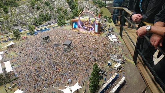 Miniatur Wunderland: DJ Bobo Konzert