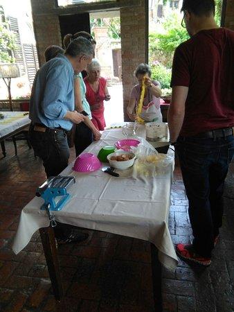 Brusasco, Italia: cooking class