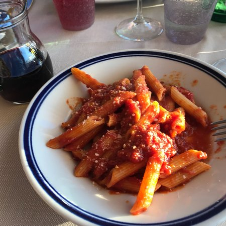 Roccatederighi, อิตาลี: Vorspeisenteller; Lamm, Pasta