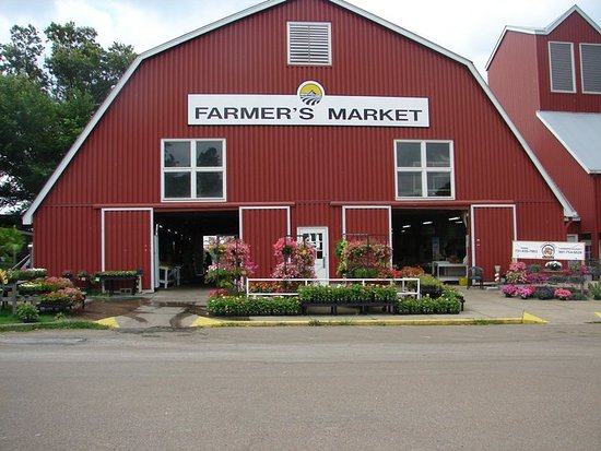 Agricenter International RV Park: Walk to the seasonal Farmer's Market 6 days a week from May through October.