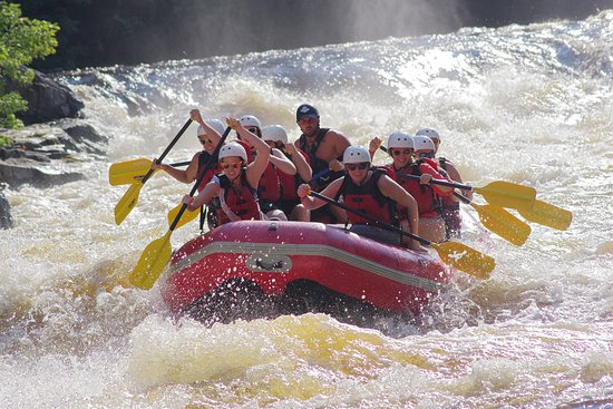Athelstane, WI: A group is charging into the largest commercially run whitewater in the Midwest.