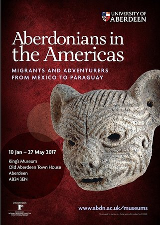 King's Museum - Old Town House: 'Aberdonians in the Americas' - 10 Jan - 27 May 2017