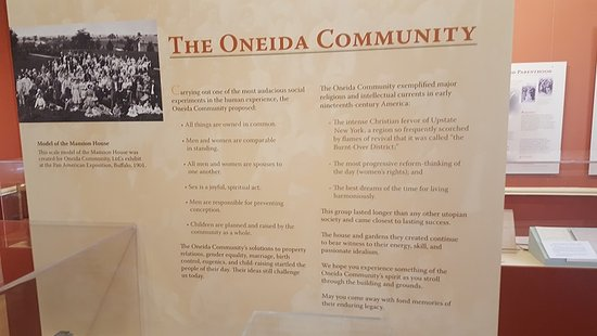 Quick facts about the Oneida Community