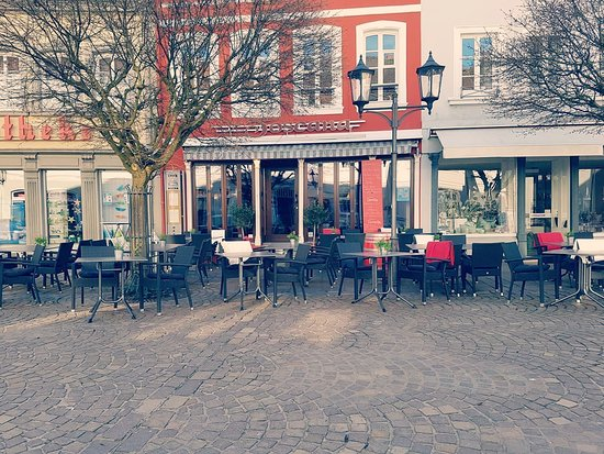St. Ingbert, Tyskland: La belle terrasse du restaurant