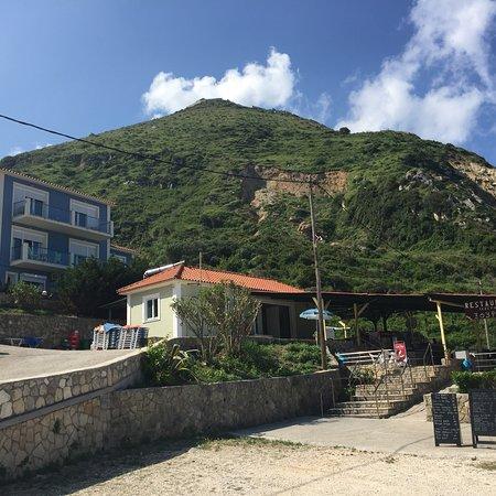 Petani Beachside Accommodation: Petani beachside Ausblicke