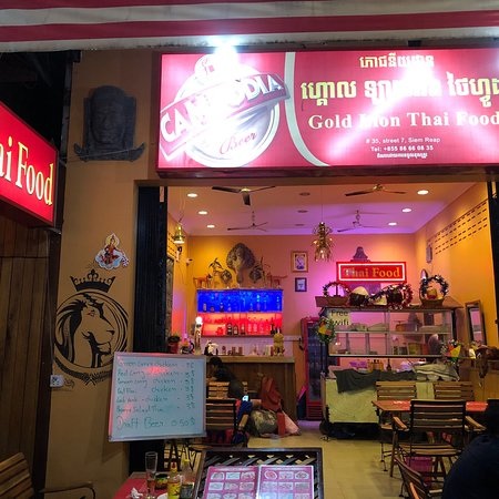 Gold Lion Thai Food Φωτογραφία