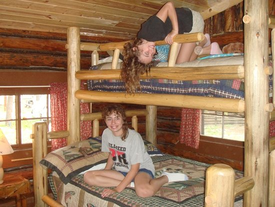 South Fork Mountain Lodge: Cabins built in 1917 remodels with beautiful furniture beds and views!