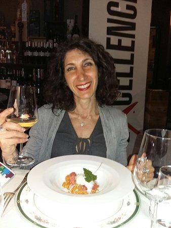 Il Simposio - Restaurant Wine Bar: La Luna, il Carnaroli, i Gamberi, il gelato alla stracciatella...