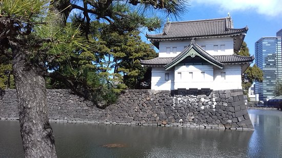 Half Day Sightseeing Tour in Tokyo: the imperial palace