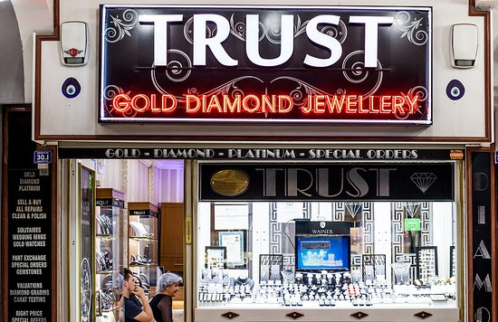 Icmeler, Turkiet: Trust Gold & Diamonds