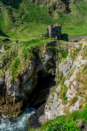 Kinbane Castle: View from the tip