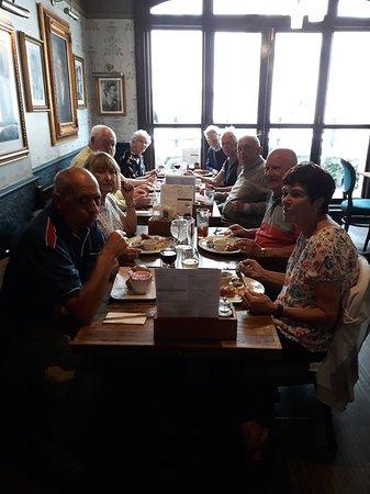 Thursday lunch in The Golden Lion!