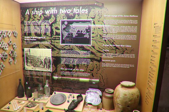 The Shipwreck Galleries: A ship with two tales