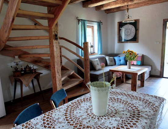 Chata nad Sanem: Apartament drewniany