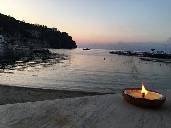La Sirenella: vista dal tavolo