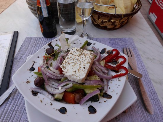 Zante Pantheon Hotel: greek salad