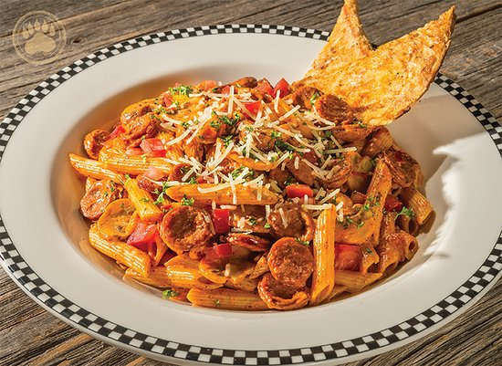 Porterville, CA: Linguica And Penne Pasta