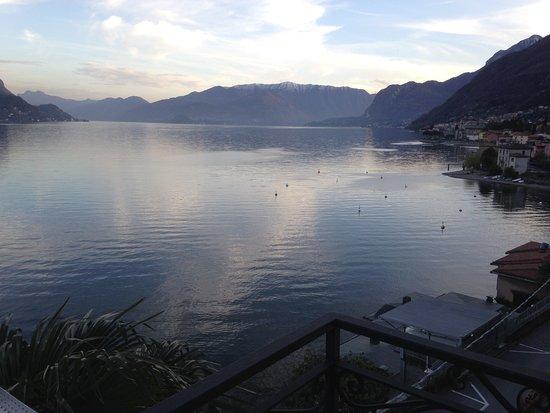 Сан-Сиро, Италия: Evening view from the balcony