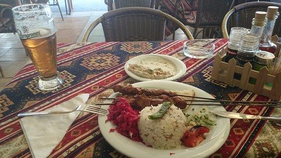 Orient Turkish Restaurant: Lamb kebab