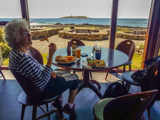 Blackwaterfoot, UK: Ann Birthday lunch_large.jpg