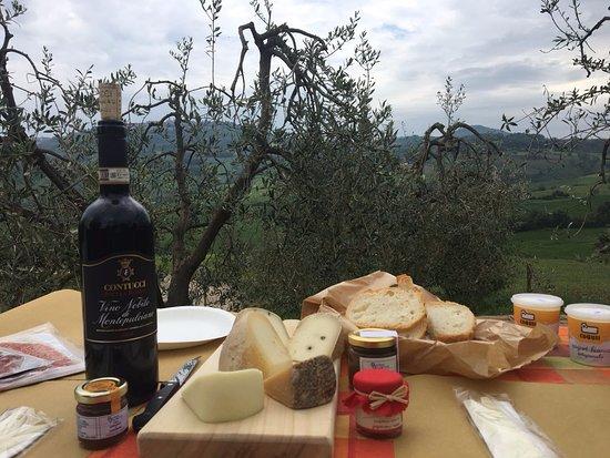 Passeios Na Toscana: Piquenique Val D'orcia