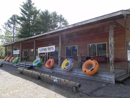 The Hawk's Nest Canoe Outfitters Manitowish Waters location