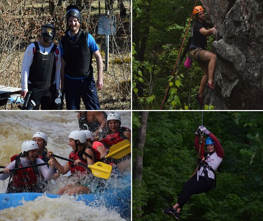 Athelstane, WI: Put together a great adventure with multiple activities.