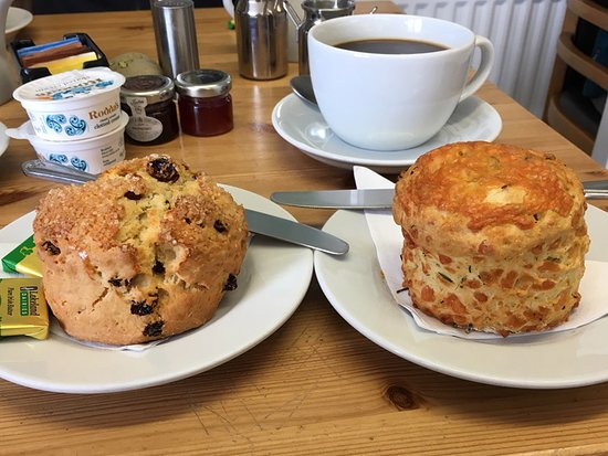 Scones at the Drift Café, Cresswell