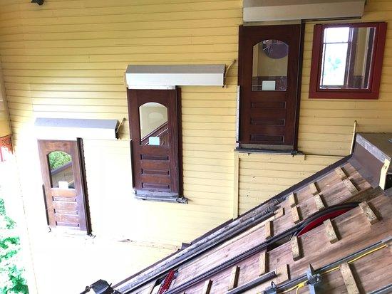 Monongahela Incline: 頂駅のホーム