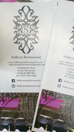 ‪‪Fazeley‬, UK: Saffron Indian Restaurant & Take Away‬
