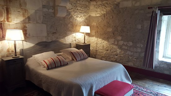 Bourdeilles, Frankreich: Our room on the top floor