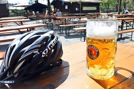 Forsthaus Kasten: Biergarten