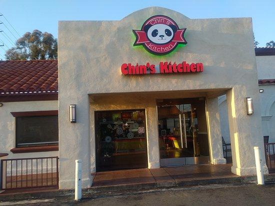 entrance to chins kitchen in orange - Chins Kitchen