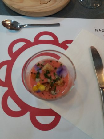 Barcelona Cooking: Strawberry gazpaco