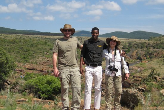 Limpopo Province, South Africa: Percy on tour