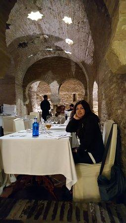 San Marco Barrio Santa Cruz: Comedor de la parte de abajo