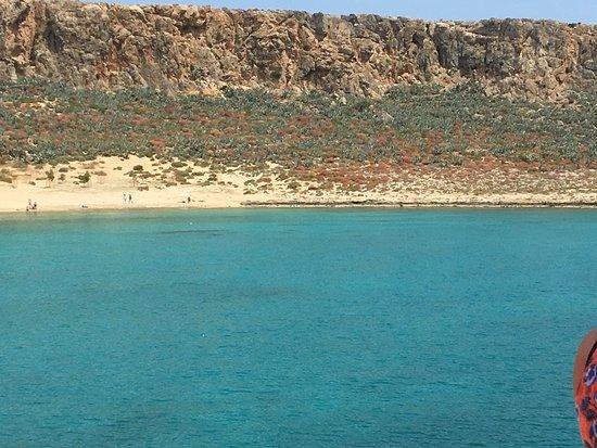 Gramvousa, Греция: Nog niet zo vol op het strand