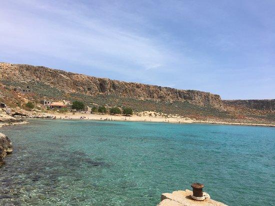 Gramvousa, Греция: Vaak meer wind